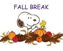 snoopy fall break