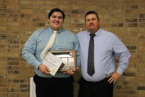 Football Outstanding Offensive Lineman:  Chris Samaniego