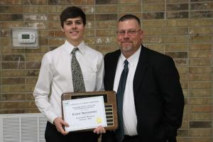 Football Outstanding Receiver:  Kaden Montgomery