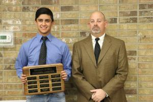 Football Outstanding Linebacker:  Javier Moreno