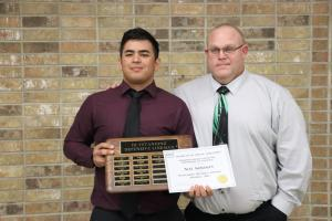 Football Outstanding Defensive Lineman:  Alec Gonzales
