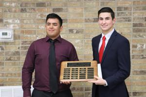 Football Todd Welch Scholarship:  Alec Gonzales & Michael Smith