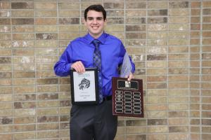 Football Joe Vela Scholarship:  Caleb Shirley