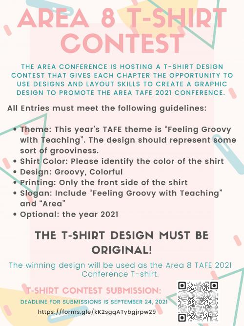 Tafe t-shirt competition flyer