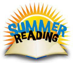Summer Reading Picture, Open Book with sun shining