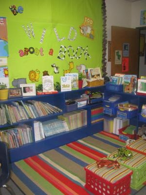OUR NEW LIBRARY CENTER.