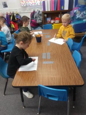 writing the letter R