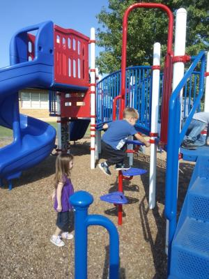 Exploring new play ground