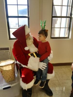 Visit with Santa!