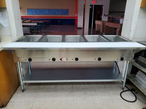 New steam table