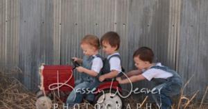 Payton, Kaleb and Preston 3 of my grandchildren