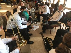 State Contest Warm-Up Room