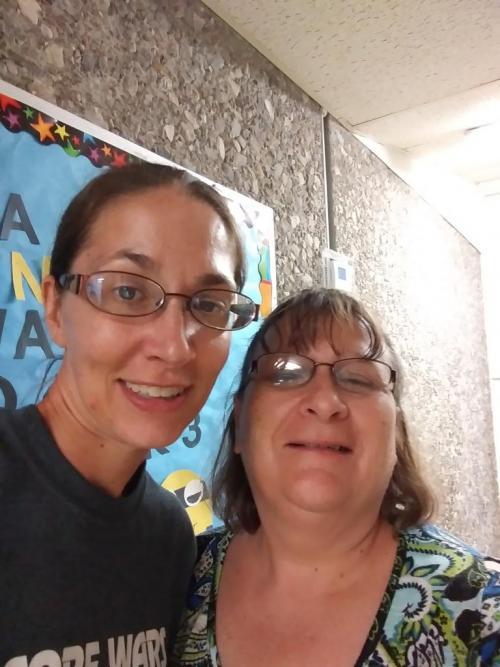 Mrs. DeAnn and Mrs. Brenda