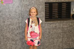 Kambri's First Day of 3rd Grade