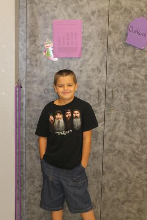 Sawyer's First Day of 3rd Grade