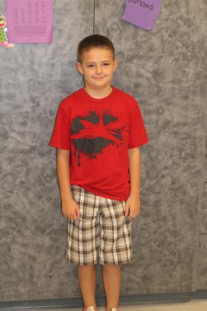 Robert's First Day of 3rd Grade