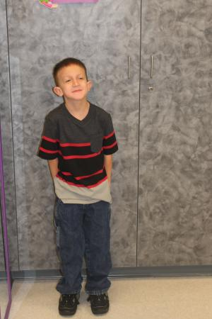 Trenten's First Day of 3rd Grade