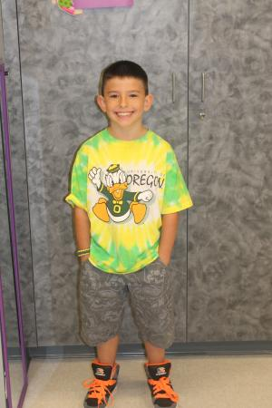 Zander's First Day of 3rd Grade
