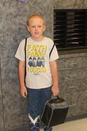 Kade's First Day of 3rd Grade