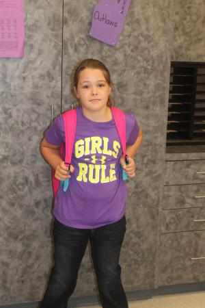Taylor's First Day of 3rd Grade
