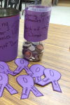Kountze HOSA students collected money for Premies!  Thanks KHS for donating to March of Dimes