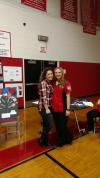 Madi Smith and Tori Darby CTE Showcase