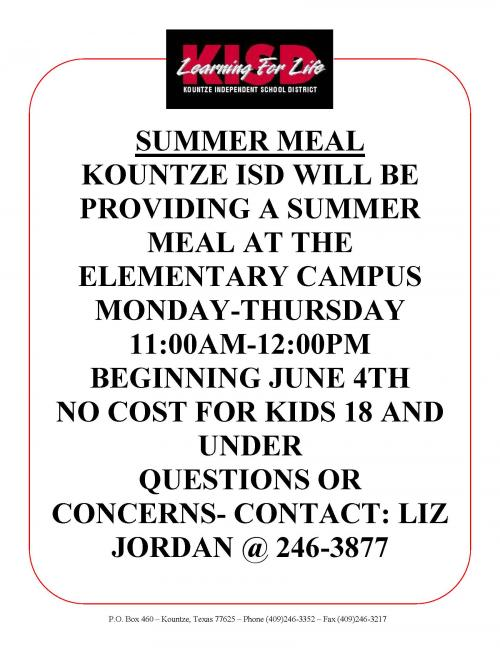 summer meal