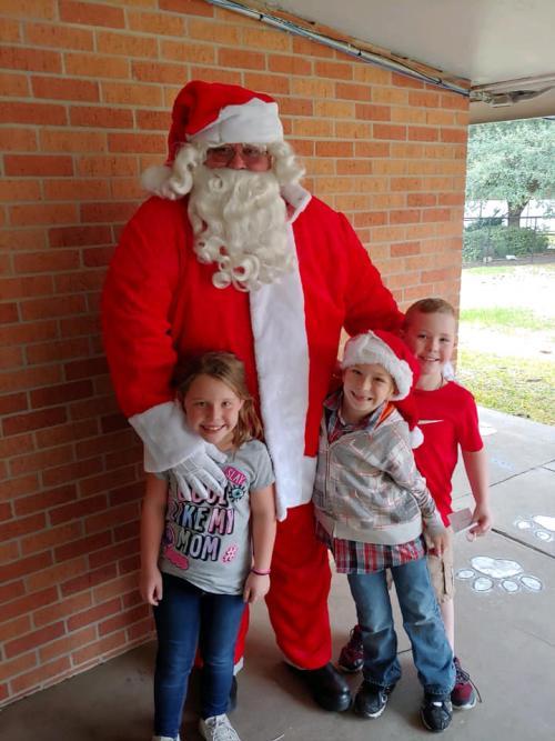 Santa at KES