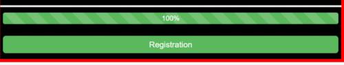 finished registration