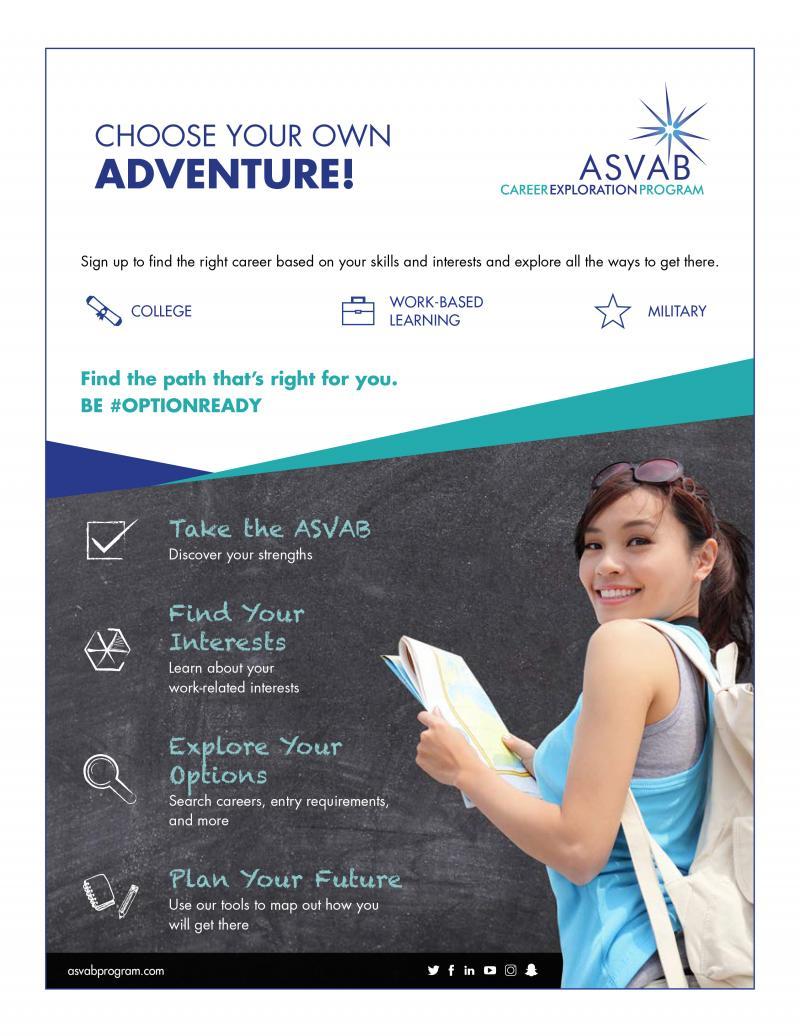 ASVAB Career Exploration Program Flyer