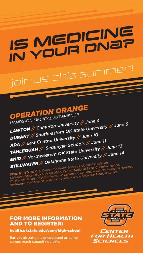 Operation Orange Flyer