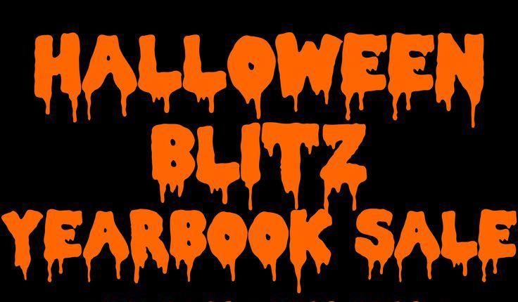 Halloween Yearbook Sale