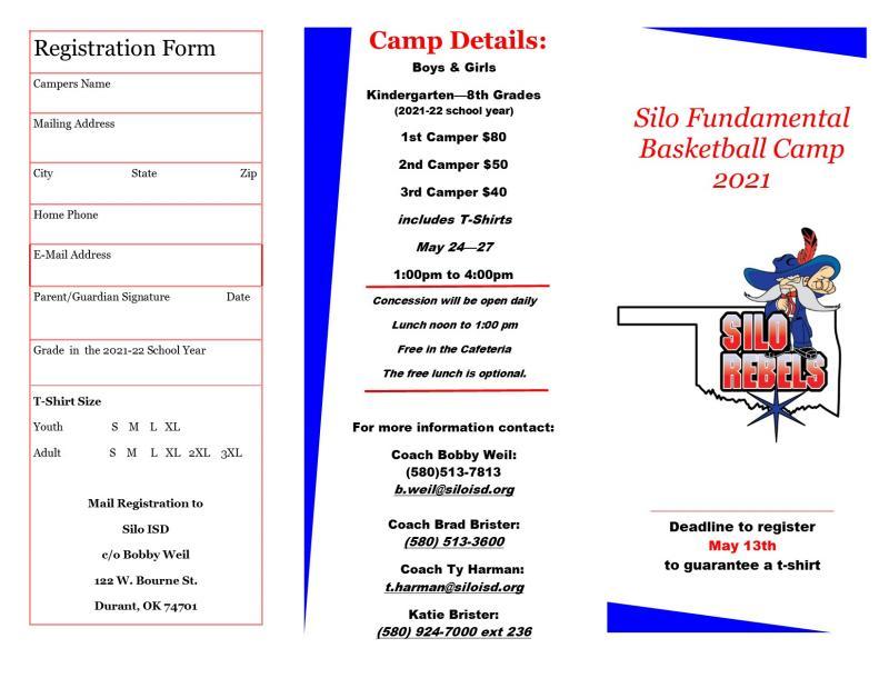 2021 Silo Basketball Camp