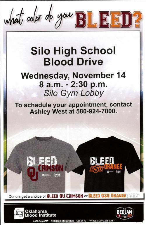 Blood Drive November 14th