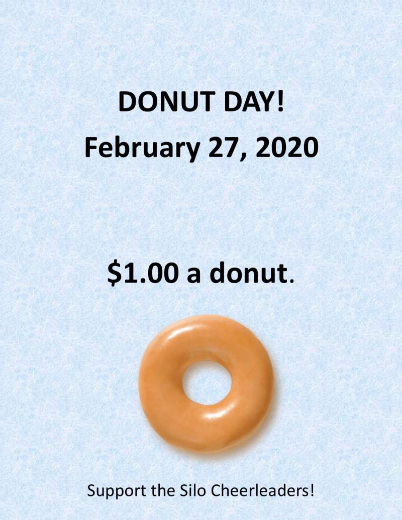 Donut Day February 27 $1