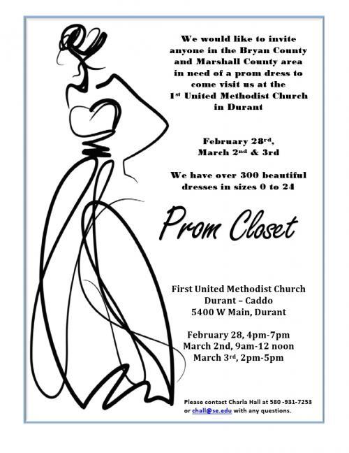 Prom Closet Flyer