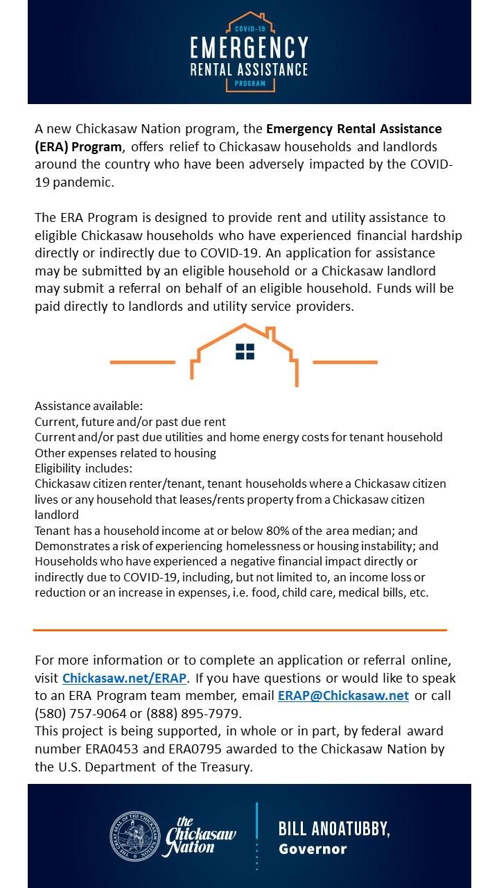 Chickasaw Rental Assistance
