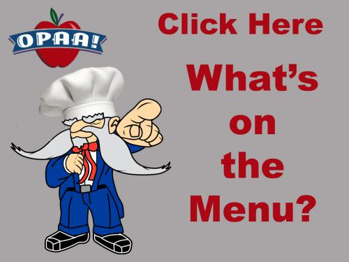 Click Here What's on the Menu?