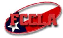 FCCLA Texas logo...