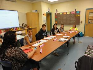 FCCLA officers leading meeting! (2013)