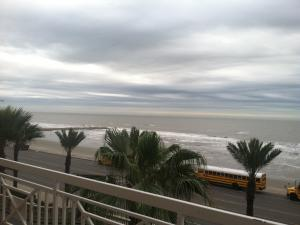 Beach view from the convention center in Galveston! (Feb 2013)