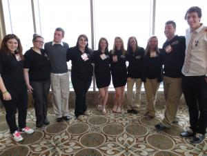 FCCLA implements new dress code at Region IV Convention in Galveston! (Feb 2013)