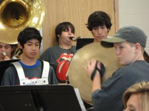 2013-2014 Teacher back to school start-up with HFHS band! (2013)