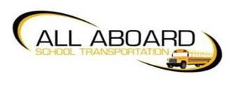 All Aboard School Transportation Logo