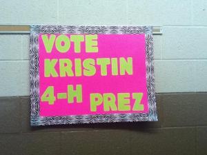 Vote Kristin!!!
