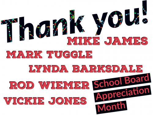 Thank You Okmulgee School Board