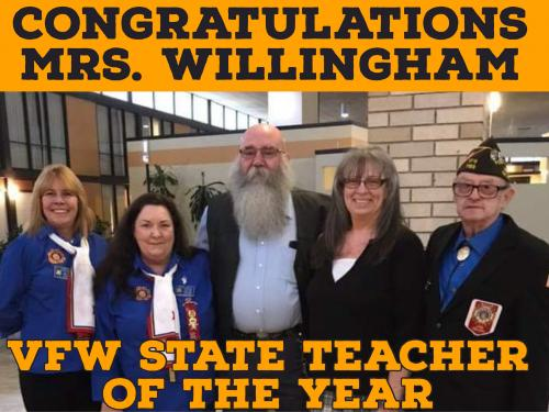 VFW Teacher of the Year