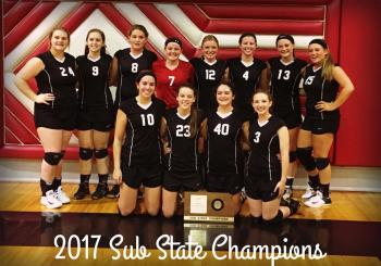 Sub State Volleyball Champs
