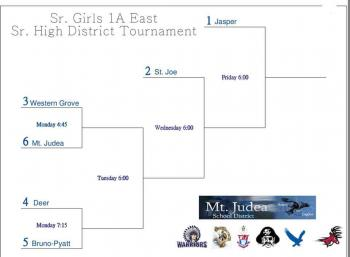Sr. Girls District Tournament
