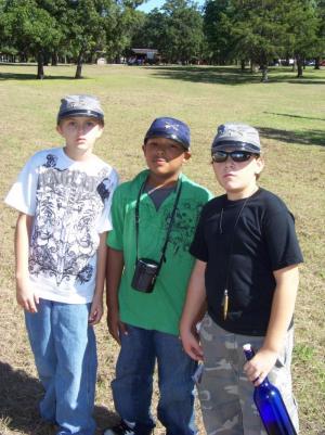 The three stooges? Ryder, Dawson, Cody